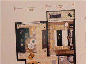 七彩城C区3室2厅1卫49万元