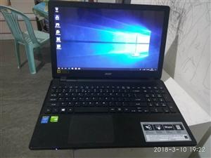 四代i5游戏笔记本gtx940独显120固态硬盘加一个内存条可以玩绝地求生机子保养很好,真心要可以便...