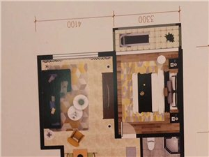 七彩城二期C区3室2厅1卫49万元