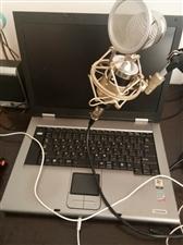 纯进口笔记本电脑仅售800元,直播神器,加上话筒声卡1000打包带走
