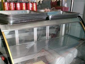 1,2x1,2米凉菜柜,带制冷。