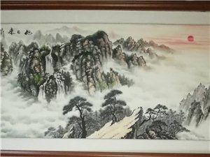 民勤李树军国画作品欣贵