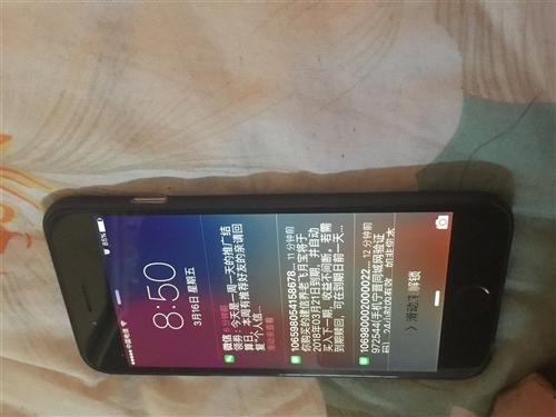 國行蘋果6灰色64g系統ios9成色八成新屏幕無劃痕隨時免費看貨寧晉縣城