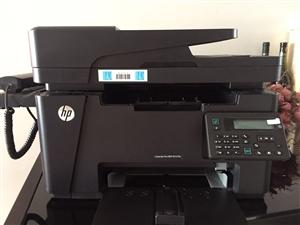 急售惠普多功能打印机,9.9成新,没用过几次,全套原包装,可打印、可复印、可传真。