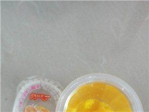 吉阳镇盛万佳超市果冻里吃出头发