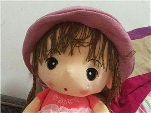 97cm的大娃娃,全新的,昨天晚上才从游乐场带回来的,家里娃娃太多了,便宜出售