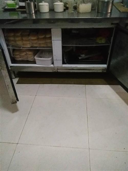 冰柜操作臺店面到期不開了現便宜轉賣一邊冷凍一邊保鮮700元