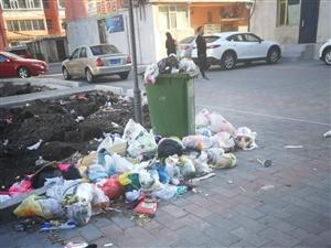 小区垃圾该谁来处理呀!