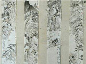 胡�x毅����山水作品�