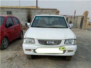 皮卡车出售:       本人有一辆11年广东福迪皮卡车,油气两用,车况良好,因急需用钱,低价处理...