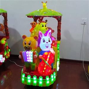 九成新儿童摇摇车