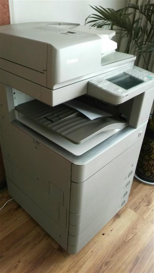 佳能C5045快速打印機,打印、復印45張/分鐘,九成新!