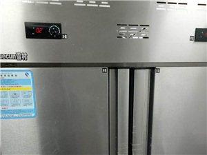冷冻冷藏4门冰箱转让价格面议,还有3P吸顶空调冰柜等9成新。