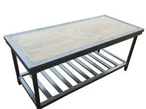 1.8米长不锈钢工作台,八九成新,使用不到一年,便宜出售