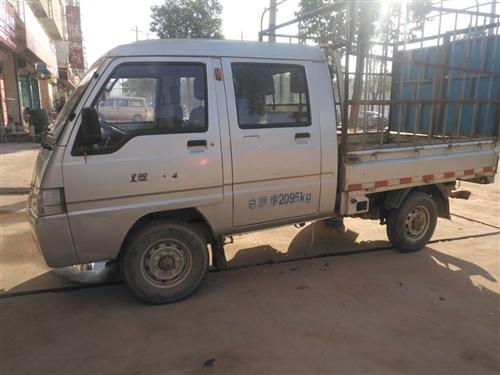 福田輕型倉柵式貨車,2012-6-29上牌。車況良好,輪胎全新