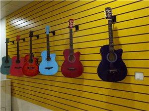 学吉他、电吉他、尤克里里,来九拍音乐体验中心吧