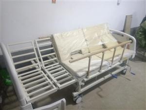 全曲手动多功能护理床加气垫,全新没用过,转让1300元自提