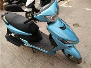踏板摩托车1400元。睢宁笑笑车行15262133328