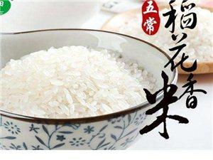 纯正天然东北五常稻花香大米