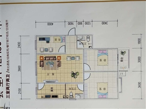 上安英杰苑5号3室2厅2卫36万元