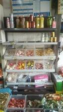 货架零食货架便利店超市货架展示架散称休闲小食品货架展示柜,九成新,因没地方放而出售
