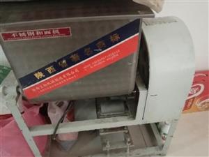 转让九成新和面机,煮面桶,保温桶,洗碗池,煤气罐碗筷等