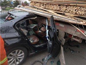 爆料:潍坊昌乐乔官路口发生车祸,车牌号为鲁G......