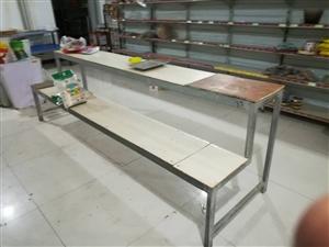菜架长1.6米.宽不到90.自己焊的粮油架子,长3米宽80.便宜处理
