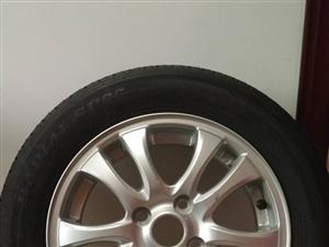 出售全新轮胎2个带钢盆,型号175/65R14,有意购买者请电话联系18346200868或1370...