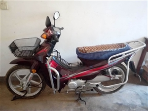 出售豪爵牌,110弯梁摩托车一辆。手续齐全。