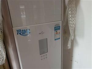 出售美的柜式空调,用一年