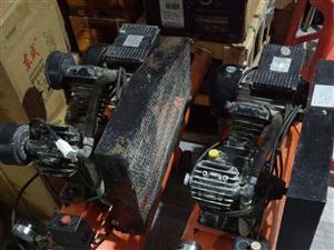 二手空压机出售,1500w和2200w各一台!机器性能完好,价格800元一台
