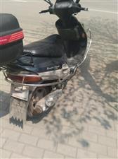 豪爵福星125踏板车,6成新,想出售或者换8成新电动车一台