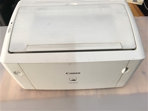 二手佳能lbp3018激光打印机,全新硒鼓,8.5成新,有用得上的莫错过机会,只售380元!
