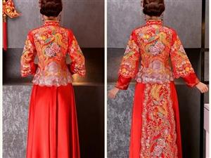 全新秀禾服双飘,360买的,现在便宜转让280元,带吊牌,带头饰,4XL