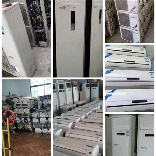 鄱阳三中往北一百米 得利制冷配件 专业出售二手空调 确保质量 免费保修