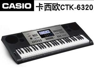 卡西欧CTK6320电子琴,考级用琴,带合成器功能,可编辑音色和节奏,音乐制作,民族音色和节奏非常有...