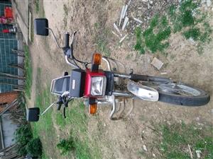 五羊本田骑式摩托车