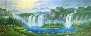 高端油画,画家亲笔,有需要的可以联系,电话15010500326