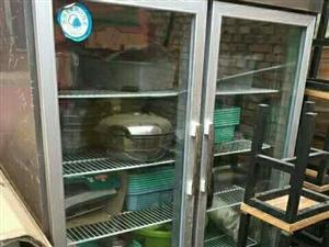 9成新,全不锈钢冷藏柜,现在低价转让