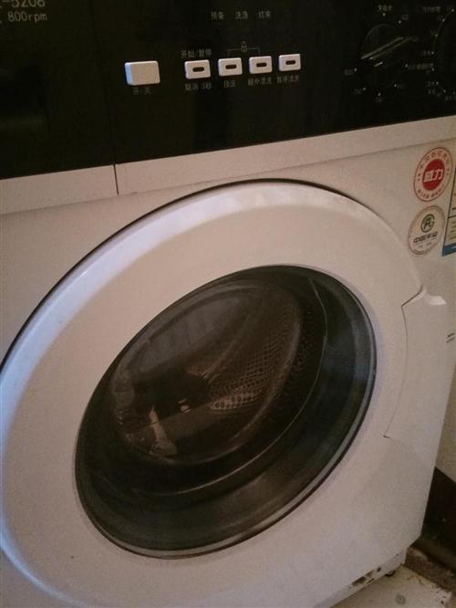 出售全自动滚筒洗衣机一个九成新价格便宜