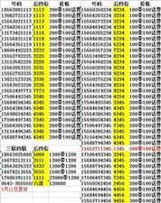 滨州小顺子号码,预存话费,免费送,数量有限,先到先得,请咨询微信电话:15550605050