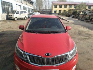 因换车出售上班用红色K2三箱经典板轿车一台