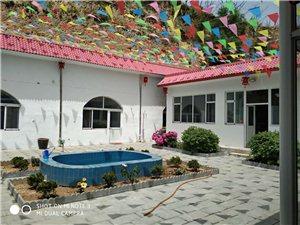 合索乡水头沟村,农家小院