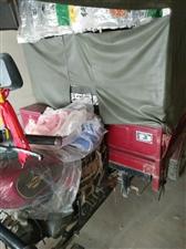 出售个人一手摩托三轮一辆8成新  车库里放着没怎么开过