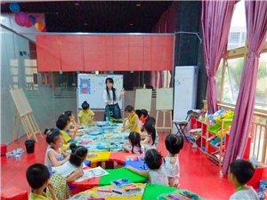 小明星影视基地创意绘画课堂