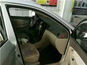 出售自家用的车2007款丰田手动花冠