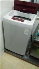 六公斤九成新海信全自动洗衣机出售,价格实惠,看到实物绝对值