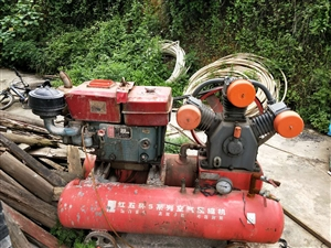 本人有一台闲置柴油空压机,八成新:80钻机一台,一米至一米五炮钎,风管:、因工地完工,现低价出售。有...