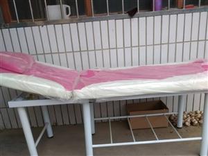折叠美容床 美容院可用 按摩床推拿艾灸火理疗床 诊所可用,家用也可以 全新,塑料薄膜还未拆 共...